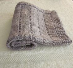 a quick project, with 1 ball of Malabrigo worsted. perfect for a newborn, doll or blankie for a toddler.