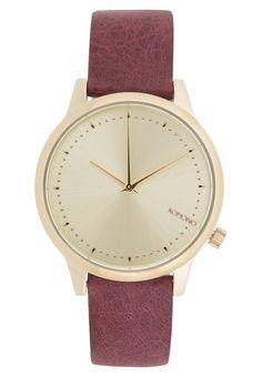faa8a8b05 Traumhafte Uhr für Frauen mit Geschmack. Komono THE ESTELLE CLASSIC - Uhr -  burgundy für