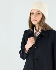 Blue! Our Loden is now also available in blue. Our autumn is warm and soft, and it's waiting for you on www.lazzarionline.net and in our stores. #Lazzari #LazzariStore #LazzariGirl #Loden