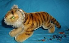 "@ Early 6"" Steiff Tiger exotic cat Excellent condition@"
