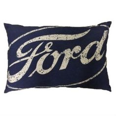 Decorate your favorite chair, couch or bed with this #Ford pillow!