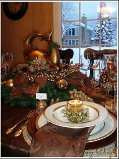 Christmas Tablescape by dining delight on Flickr
