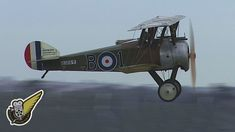 Two of The Vintage Aviator Ltd's rotary engine powered aircraft, a 1918 Fokker D.VIII monoplane, and a 1917 Sopwith Camel are shown here during a simulated d...