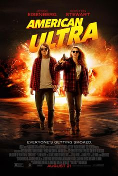 American Ultra (2015) R - Director: Nima Nourizadeh - Writer: Max Landis - Stars: Jesse Eisenberg, Kristen Stewart, Connie Britton - A stoner - who is in fact a government agent - is marked as a liability and targeted for extermination. But he's too well-trained and too high for them to handle. - ACTION / COMEDY