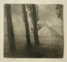Robert Demachy - Mont St Michel, 1906
