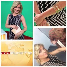 Jennifer Knäble had fun with our tattoos in her show @RTL Punkt 12