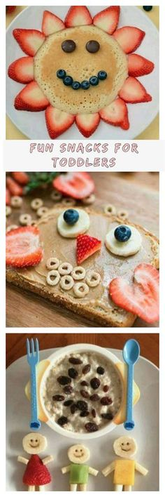 Fun, easy, and HEALTHY snacks for toddlers, preschoolers, and school-aged kids