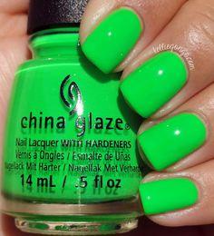 China Glaze Drink Up Witches // @kelliegonzoblog