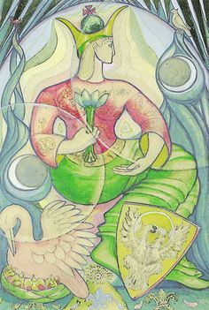 Arcana: 03 - The Empress Crowley's Thoth Tarot Deck -