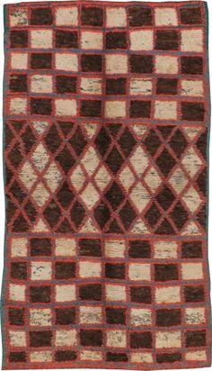 Vintage Moroccan Rug, No. 22869 -