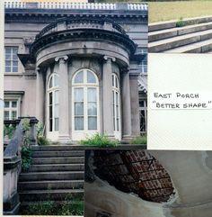 East porch Elkins Park, Acre, Porch, Mansions, House Styles, Pennsylvania, Interior, Home Decor, Luxury