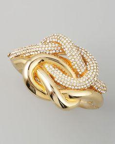 bracelets bracelets bracelets! - ShopStyle: Rachel Zoe Love Me Knot Bracelet