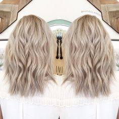 Ashy blonde// olaplex // ash blonde // cool blonde hair в 20 Ashy Hair, Cool Blonde Hair, Brown Blonde Hair, Neutral Blonde Hair, Sandy Blonde Hair, Blonde Balayage, Balayge Blond, Hair Pictures, Hair Looks