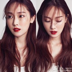 Jessica Jung for Harper's Bazaar magazine