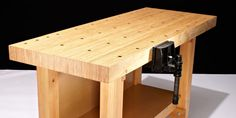 Smart design. Solid construction. On this bench, you can build anything.