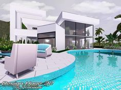 Design Home 33 by Pralinesims  http://www.thesimsresource.com/downloads/1182268