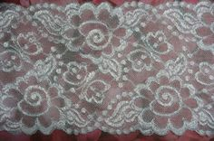 1 yard  bytheyard  4 3/4 inches wide  LACEY LACE  by LacesAndLaces, $2.00