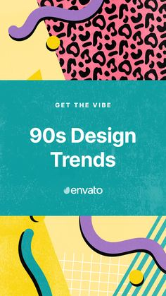 Defined by so many different genres and styles, the 90s had a huge impact on design... so much so that graphic design trends continue to re-emerge. Ready to rewind? Check out the 90s design trends making a comeback in 2020.