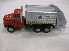 Die Cast City Garbage Truck Edition Waste Management Dept. Series Which Has Pull Back Action As Well As Mateur Retrofrication & Are Available in White, Red, Green and Black for a Limited Time Only by City Garbage Truck  Edition. $12.99. Detailed City Garbage Truck Edition Waste Management Dept. Series. free wheeling & back opens. made of metal & plastic. Diecast City Garbage Truck Edition Waste Management Dept. Series  made of metal & plastic. They are available in White...