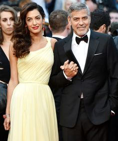 George and Amal Clooney's Cutest Couple Moments - May 12, 2016 from InStyle.com