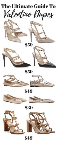 e3678503f53 The Ultimate Guide To Valentino Rockstud Dupes - Get The luxury Look For  Less! Valentino