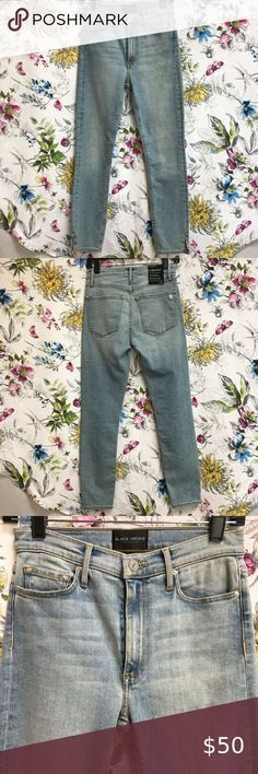 NWT Route 66 Womens Jeans Size 25 in Slim Fit Black Wash