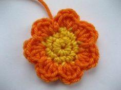 Flores Crochet Paso a Paso   Patrones Crochet, Manualidades y Reciclado
