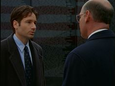 Mulder and Walter Skinner