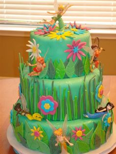 Southern Blue Celebrations: Tinkerbell ~ Pirate Fairy Cakes
