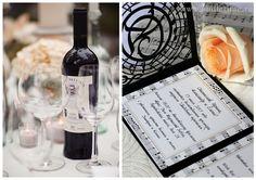 нотная свадьба #wedding #music #menu