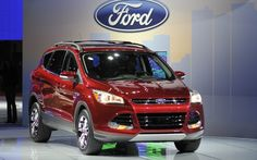2013 Ford Escape at the 2012 LA Auto Show