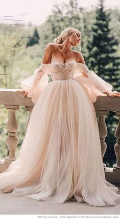 galia lahav fall 2019 bridal off shoulder sheer balloon sleeves sweetheart neckline lace bodice pleated ball gown wedding dress sweep train (bellina) supermasik yanaleventseva andrewbayda -- Stunning Real Brides in Galia Lahav Couture Wedding Dresses Givenchy Couture, Elie Saab Couture, Dior Haute Couture, Wedding Dress Trends, Fall Wedding Dresses, Bridal Dresses, Disney Wedding Dresses, Stunning Wedding Dresses, Wedding Ideas