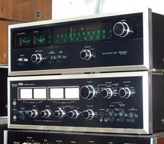 Sansui am/fm stereo tuner TU 7500 & QA 7000
