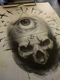 illuminati by AndreySkull.deviantart.com on @DeviantArt