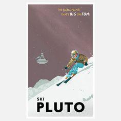 Steve Thomas: Ski Pluto