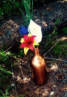Rose, iris et arôme en origami