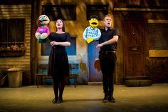Sarah Harlington as Kate Monster and Richard Lowe as Princeton in Avenue Q. Photo Credit Matt Martin Photography.jpg