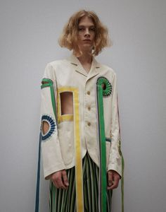 walter van beirendonck's brutal beauty for spring/summer 17