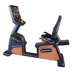The C576R Status Series Recumbent Cycle from SportsArt is a full commercial club-rated recumbent exercise bike which delivers a non-impact, highly effective cardio workout. The SportsArt ECO-NATURAL™ line is the embodiment of design, technology, mobility, and cardiovascular excellence.
