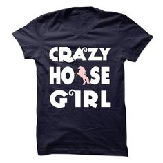Crazy Horse Girl T Shirts, Hoodies. Get it here ==► https://www.sunfrog.com/Pets/Crazy-Horse-Girl-61507213-Guys.html?57074 $21.5