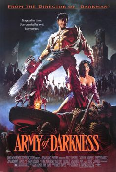 HTD Canada Army of Darkness Movie Poster 27 x 40