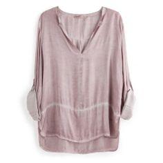 Camisa Rosa Colección Nicole