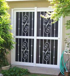security screen doors for double entry   Patio Door Security Hardware – Sliding Glass Door Parts, Your