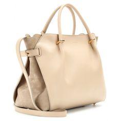 Nina Ricci - Marché Leather Shoulder Bag in Sandy Beige — BAGSESSED