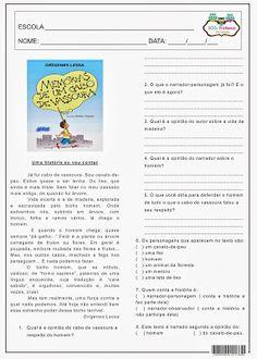 SOS PROFESSOR-ATIVIDADES: Memórias de um cabo de vassoura