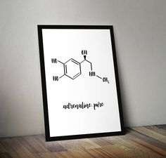 chemical formula chemistry science motivational Funny Science, Science Humor, Science Art, Printing Services, Online Printing, Chemical Formula, Wall Paintings, Printable Wall Art, Biology