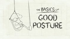 This animated guide to posture at work is a reminder that sitting down all day is unfortunately very bad for you.