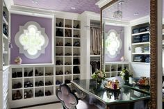 love the shoe area and the floor to ceiling mirror in the closet!
