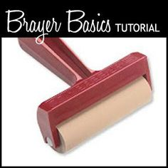 Brayer Basics videoTutorial--This really takes me back to middle school! I used to love doing this kind of art work!