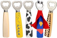 Super Papa, Cadeau Parents, Anna Craft, Diy And Crafts, Crafts For Kids, Bottle Opener, Fathers Day, Daddy, Smartphone